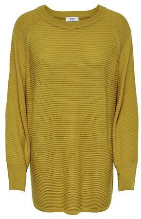Jacqueline de Yong Damski sweter JDYMATHISON 7/8 NOOS WHS PULLOVER KNT Harvest Gold (Wielkość XS)
