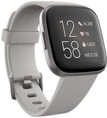 Fitbit Versa 2 (NFC), Stone/Mist Grey