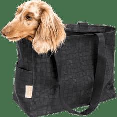 Samohýl Transportní taška nylon Sychrov Ekonomy černá s potiskem 45 cm