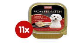 Animonda V.Feinsten hrana za odrasle pse Core, govedina, banana in marelica, 11 x 150 g