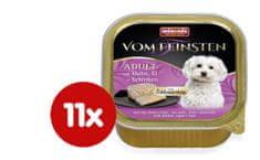 Animonda V.Feinsten hrana za odrasle pse Core, piščanec, jajca in šunka, 11 x 150 g