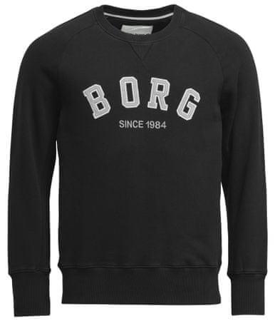 Björn Borg férfi pulóver Crew Borg Sport L fekete