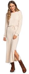 ROXY Dámske šaty The Winter Dress Metro Heather ERJKD03269-TENH