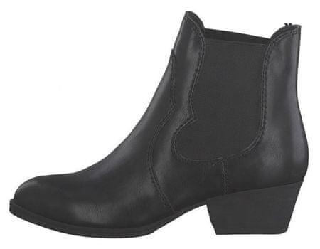 Tamaris Damskie botki 1-1-25974-33-020 Black Matt (rozmiar 38)