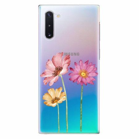 iSaprio Plastový kryt - Three Flowers - Samsung Galaxy Note 10