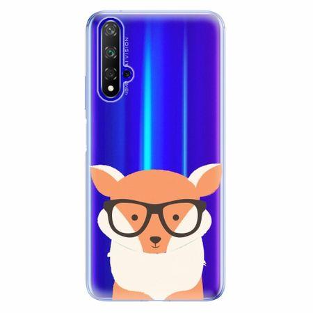 iSaprio Silikonové pouzdro - Orange Fox - Huawei Honor 20