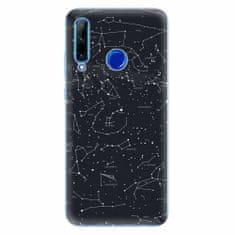 iSaprio Silikonové pouzdro - Night Sky 01 - Huawei Honor 20 Lite