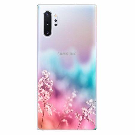iSaprio Silikonové pouzdro - Rainbow Grass - Samsung Galaxy Note 10+