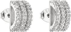 Evolution Group Ezüst fülbevaló cirkóniával 11007.1 ezüst 925/1000