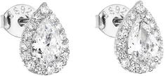 Evolution Group Ezüst fülbevaló cirkóni fehér csepp 11132.1 ezüst 925/1000