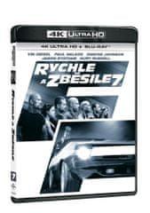 Rychle a zběsile 7 (2 disky) - Blu-ray + 4K Ultra HD