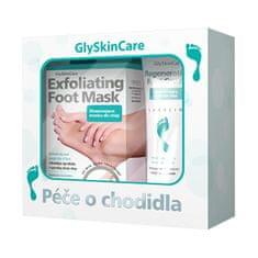 Biotter Pharma Sada starostlivosti o chodidlá exfoliačný maska na chodidlá 1 pár + regeneračný krém na chodidlá 75