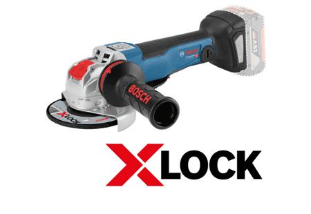 BOSCH Professional X-LOCK GWX 18V-10 SC, 06017B0700 akumulatorski kotni brusilnik