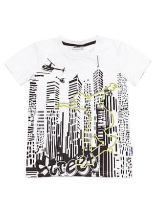WINKIKI majica za dječake, 134, bijela
