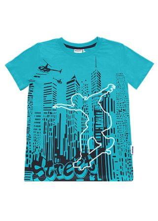 WINKIKI chlapecké tričko 152 turquoise