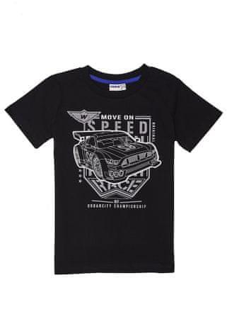 WINKIKI majica za dječake, 146, crna