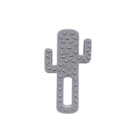 Minikoioi grizalo Cactus, silikon, sivo