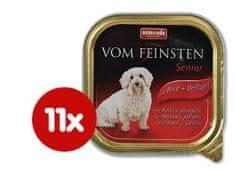 Animonda mokra hrana za starejše pse Vom Feinstein Senior, govedina + piščanec, 11x150g