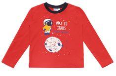 WINKIKI pulover za dječake, crvena