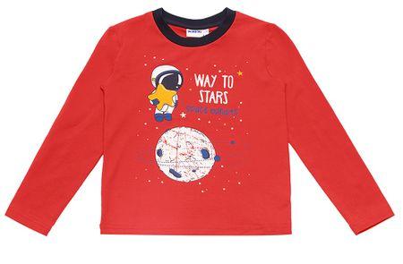 WINKIKI pulover za dječake, crvena, 98