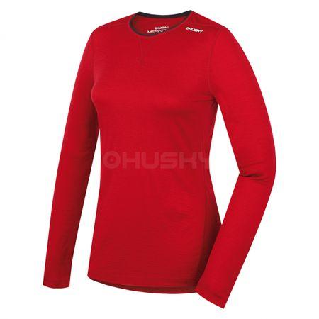 Husky Merino 100 ženski pulover, rdeč, (IHD-7922) S