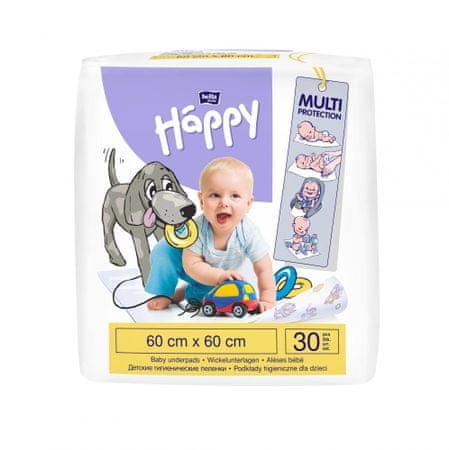 Bella Happy Detské prebaľovacie podložky 60x60 cm - 30ks