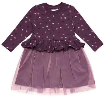 WINKIKI sukienka dziewczęca 116 fioletowa