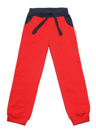 WINKIKI chlapecké kalhoty 122 Red