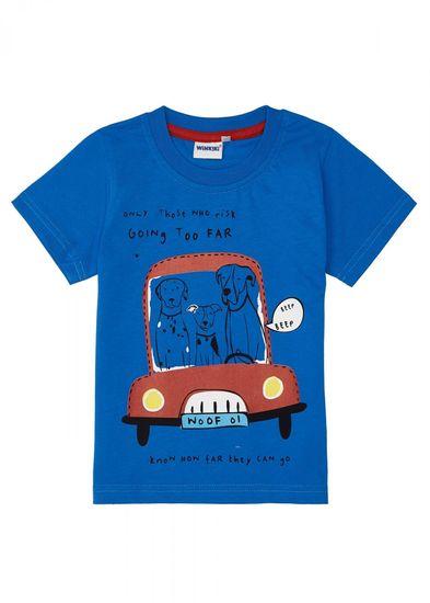 WINKIKI chlapčenské tričko 116 modrá