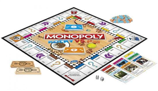 Hasbro Monopoly Kočky a psi CZ/SK | MALL.CZ