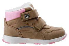 Bejo dievčenské topánky ELADIO KIDS G BEIGE/PINK/REFLECTIVE