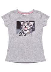WINKIKI dívčí tričko Gray melange