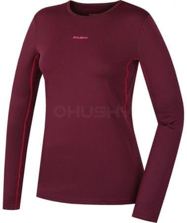 Husky Active Winter ženska majica (IHD-8360) S, rdeča