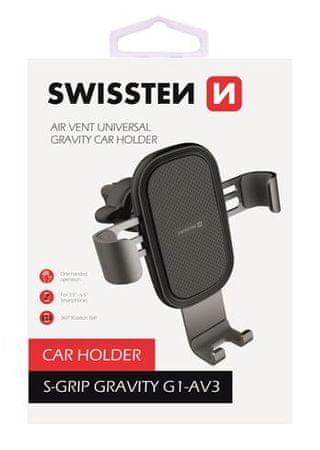 SWISSTEN Magnetyczny uchwyt samochodowy S-Grip G1-AV3 65010602
