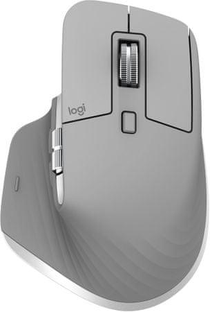 Logitech MX Master 3 brezžična miška, siva