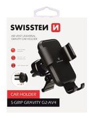 SWISSTEN Gravity magnetno držalo za telefon S-GRIP G2-AV4, 65010605