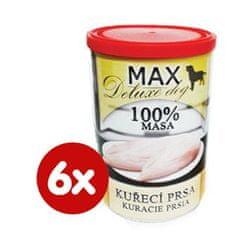 FALCO karma dla psów MAX deluxe pierś z kurczaka bez kości, 6 x 400 g