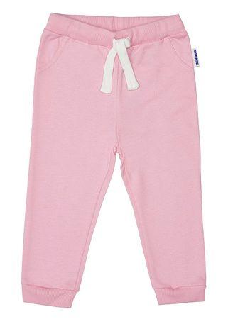 WINKIKI dievčenské tepláky 74 pink