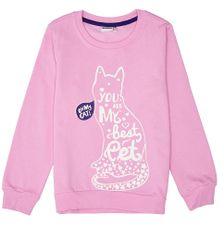 WINKIKI Pulover za djevojčice, ružičasti