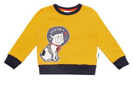 WINKIKI fantovski pulover, 98, rumen