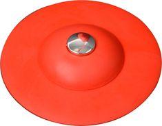 Fala Výpusť umyvadlová silikonová s filtrem červená