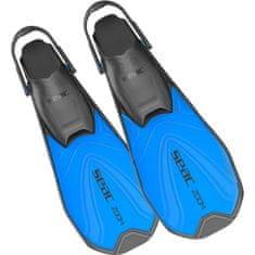 Seac Sub Páskové šnorchlovací ploutve ZOOM modré