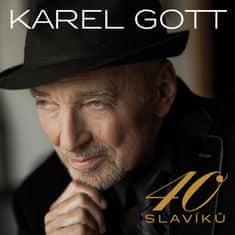 Gott Karel: 40 Slavíků (2x CD) - CD