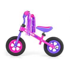 MILLY MALLY Dětské odrážedlo kolo Milly Mally Dragon Air pink