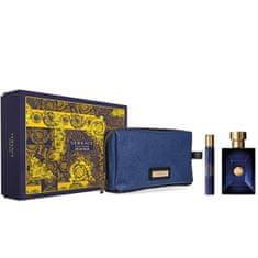 Versace Pour Homme Dylan Blue - EDT 100 ml + EDT 10 ml + kozmetická taštička