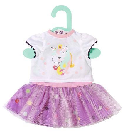 Zapf Creation koszulka w zestawie z tiulową spódnicą Dolly Moda 36 cm