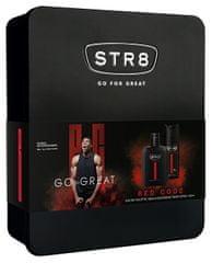 STR8 Red Code - woda toaletowa 50 + dezodorant w sprayu 150 ml