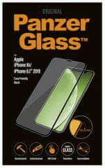 PanzerGlass Privacy Pro zaščitno steklo za iPhone Xr/11, Edge-to-Edge, črno