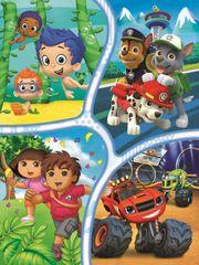 Trefl Puzzle Nickelodeon: Dobrodružství a zábava 30 dílků