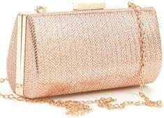 Verde Dámske listová kabelka 01-1281 Rose Gold